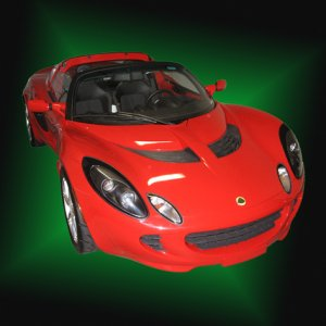 2005 Ardent Red Lotus Elise