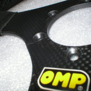 OMP CF steering wheel