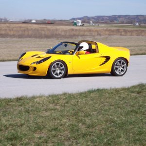 My Elise at Mid-America Motorplex