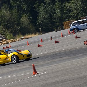 SCCA ProSolo in Packwood Washington