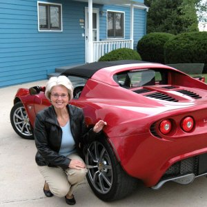 Sharon With Our New Elise
