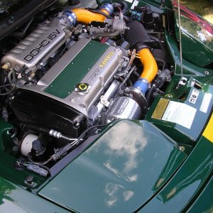 Elan M100 Engine bay