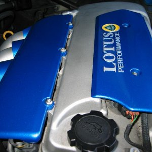 Engine Covers Installed 2