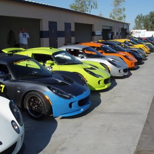 Lotus Challenge Series People And Cars