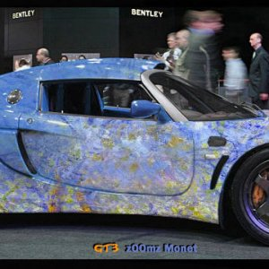 GT3 Elise with Monet Graphics (Photoshop)