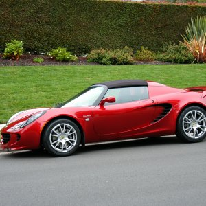 2008 Lotus Elise Sc With Soft Top
