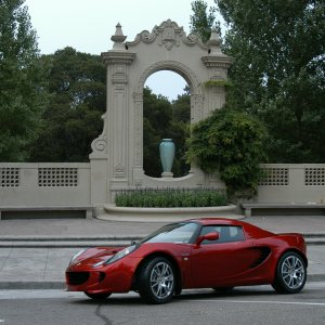 2008 Lotus Elise Sc In Canyon Red