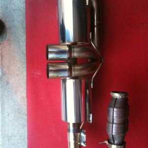 Argray Twin Muffler For Sale