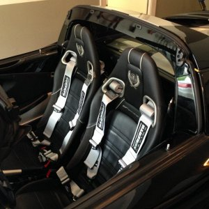 Exige style seats in Elise.