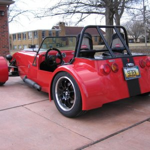 Locost Lotus 7 Turbo Miata Powered