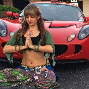 In The Lotus Position
