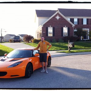 The Evora And Me.