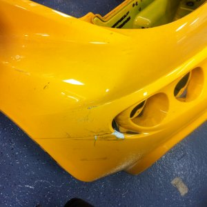 05 Lotus Elise Rear Clam Shell