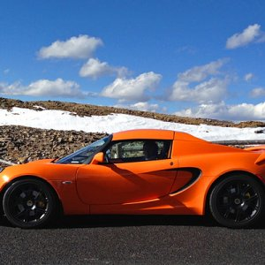 2011 Lotus Elise Sc On Trail Ridge Rd, Co