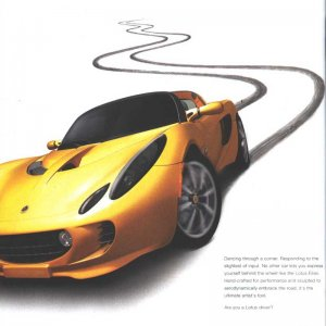 Lotus Ad in Grassroots Motorsports