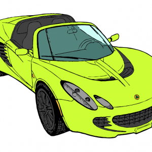 Lotus Elise Illustration